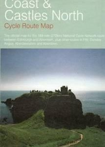 Fietskaart Coast and Castles North : Edinburgh - Aberdeen NND NSCR | Sustrans