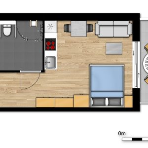 New Holiday Suite for 2 people, accessible to disabled people
