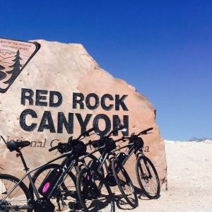 Self-guided e-bike tour of Red Rock Canyon