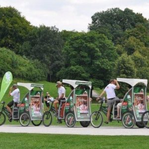 Best of Munich guided tour by eRickshaw