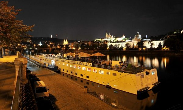 Dinner cruise in Prague with hotel transportation