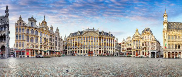 Luxury sightseeing tour of Brussels with private transportation from Amsterdam